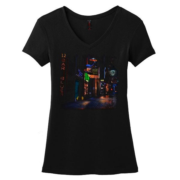 12-Bar Blues V-Neck (Women)