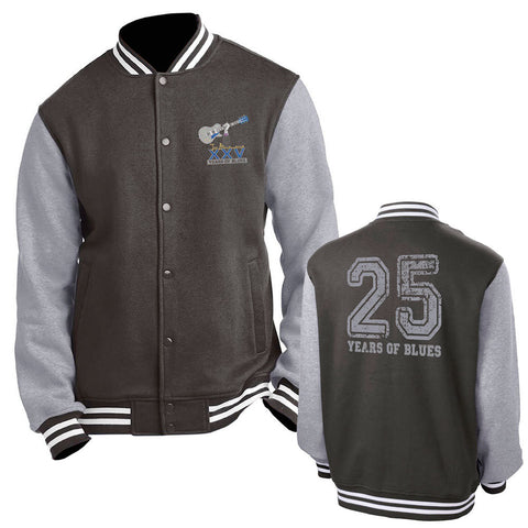 25th Anniversary Logo Letterman Jacket w/Name Embroidered