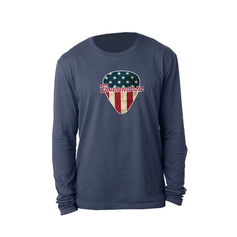 American Style Long Sleeve (Men) - Indigo