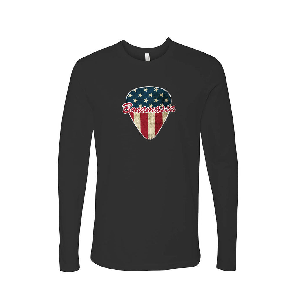American Style Long Sleeve (Men) - Black