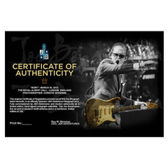 "#16 ""Rory"" JOE BONAMASSA Collectible Litho (FRAMED - USA ONLY)"