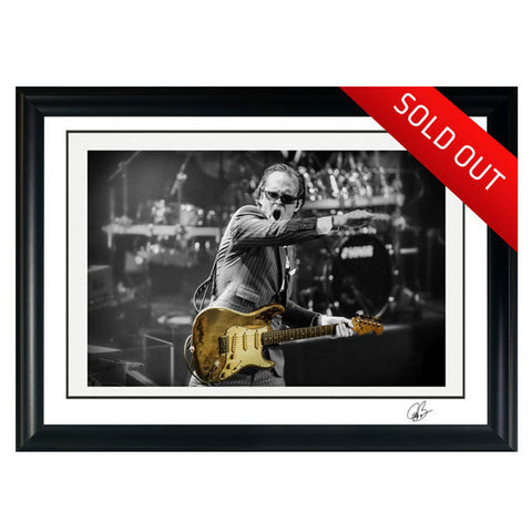 "#16 ""RORY"" Joe Bonamassa Collectible Litho"