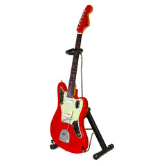 Joe Bonamassa 1962 Fender Jaguar in Fiesta Red Mini Guitar Replica Collectible