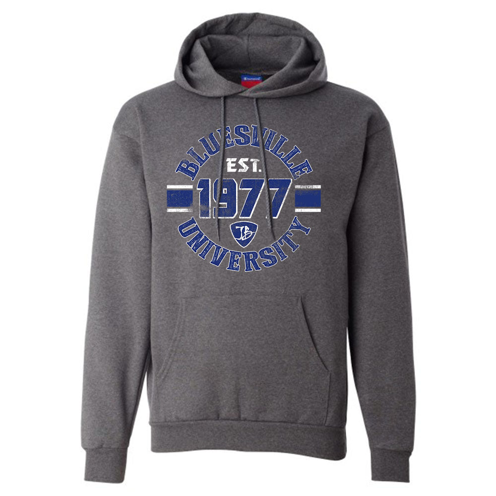8b4d402d0f1 Bluesville University Shield Champion Hooded Sweatshirt (Men) - Charco – Joe  Bonamassa Official Store