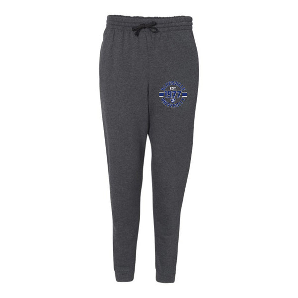 Bluesville University Shield Sweatpants (Unisex) - Charcoal Heather