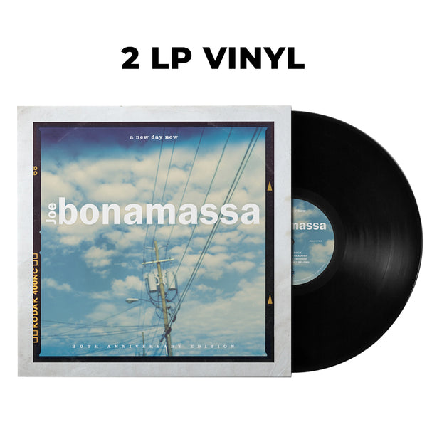 Joe Bonamassa: A New Day Now (Double Vinyl Set) (Released: 2020) ***PRE-ORDER***