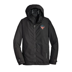 American Style Port Authority Slicker Rain Jacket (Men) - Black