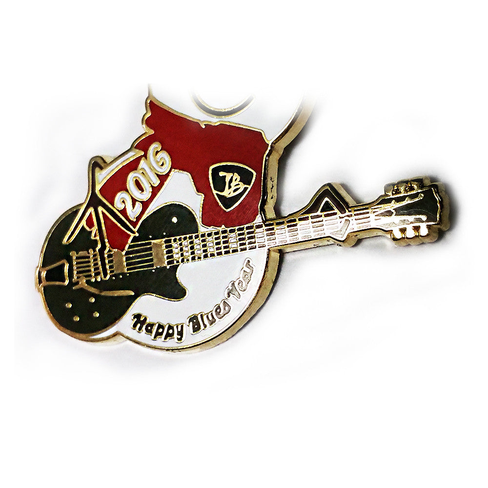 "2016 ""Happy Blues Year"" Pin - Limited Edition (100 pieces)"