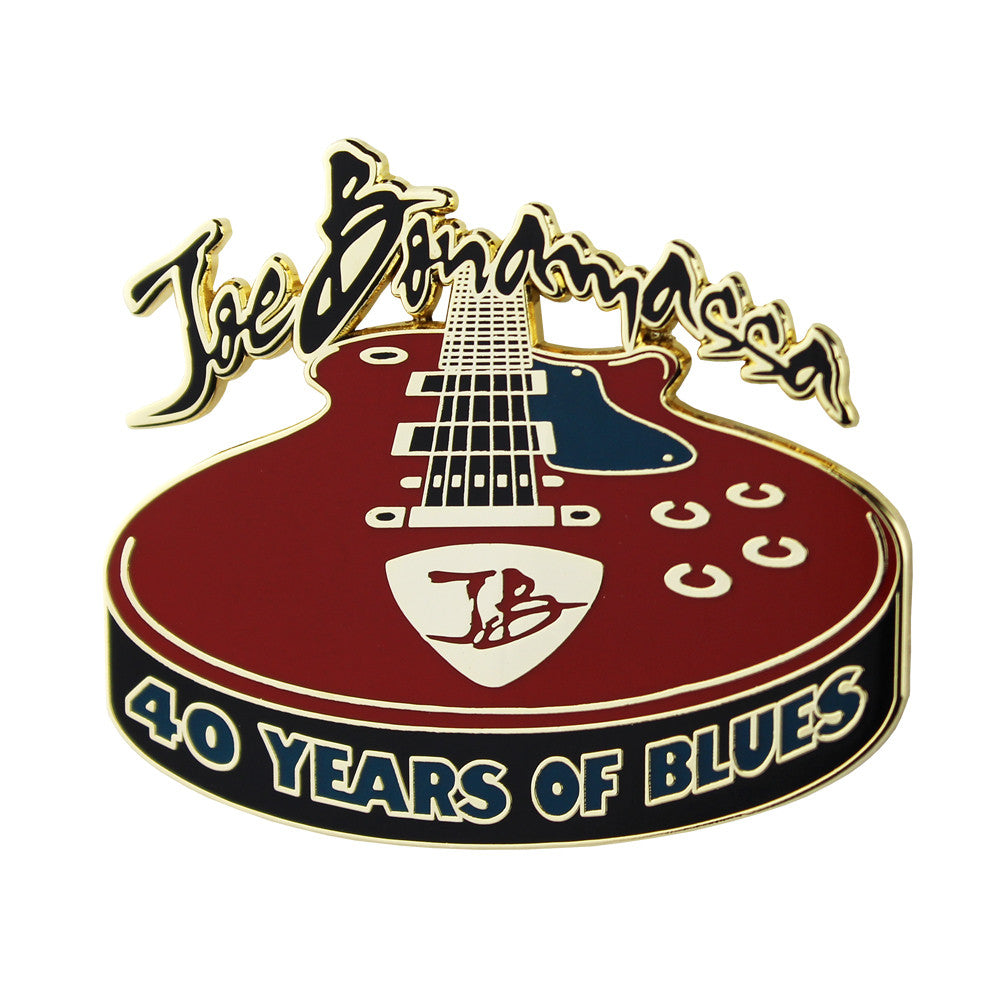2017 Joe Bonamassa 40 Years of Blues Pin - Limited Edition (100 pieces)