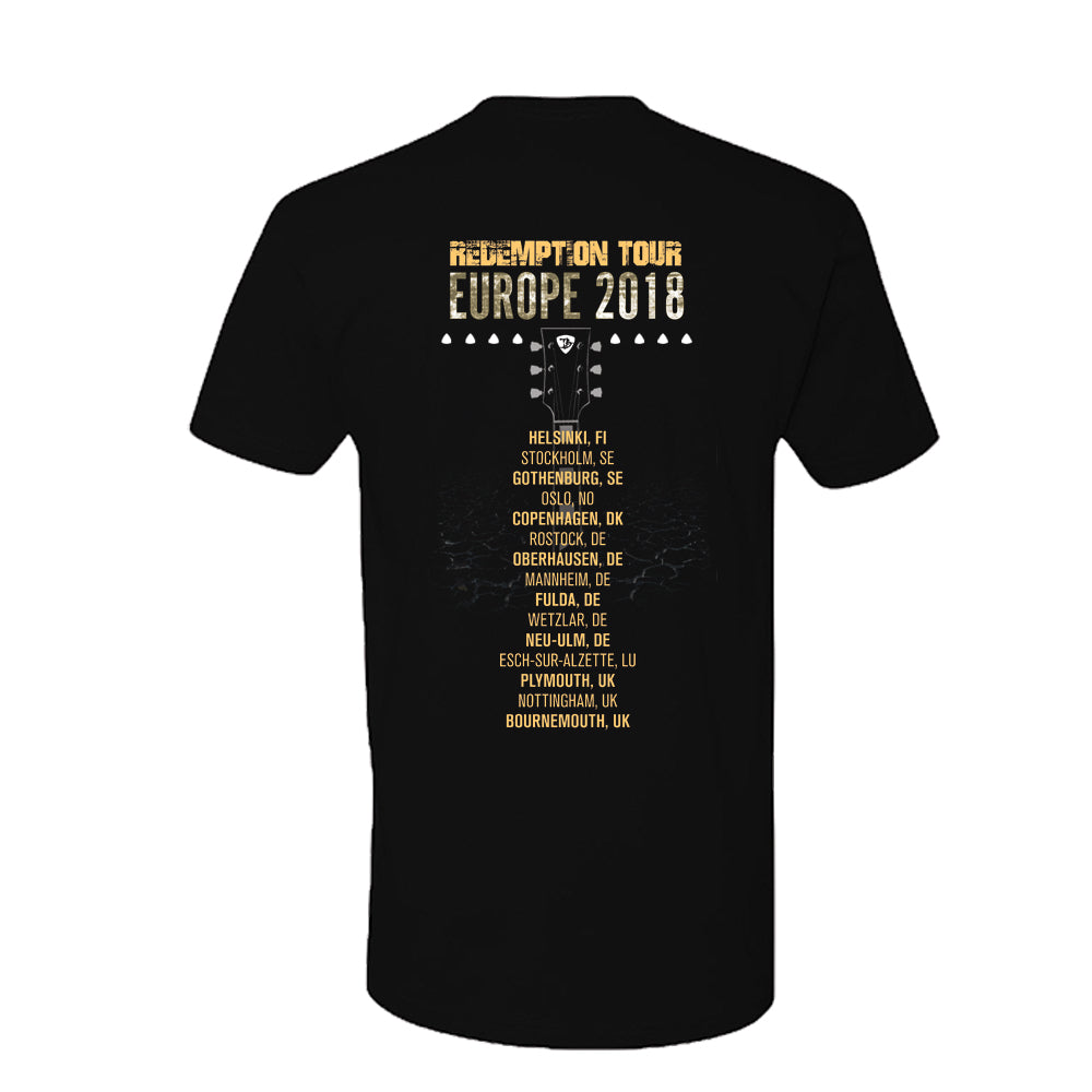 2018 Europe Redemption Tour T-Shirt (Unisex)
