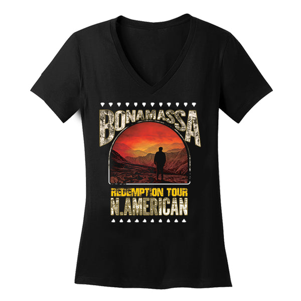 2018 N. American Redemption Tour V-Neck (Women)