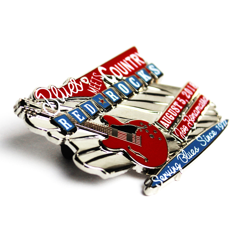 2018 Red Rocks Pin - Silver