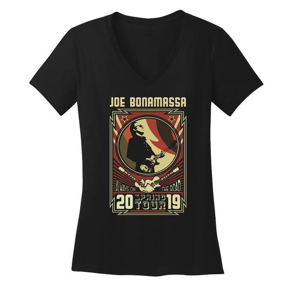 2019 U.S. Spring Tour V-Neck (Women)