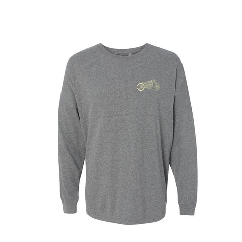 Bona-Bobber Collegiate Long Sleeve (Unisex) - Oxford