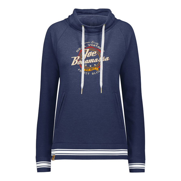 Finest Blues Pullover (Women) - Navy Heather