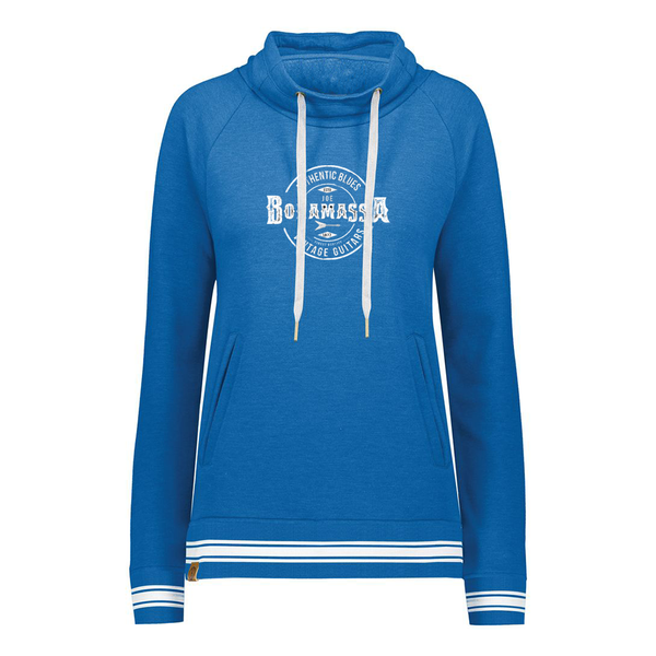 Authentic Blues Pullover (Women) - Royal Heather