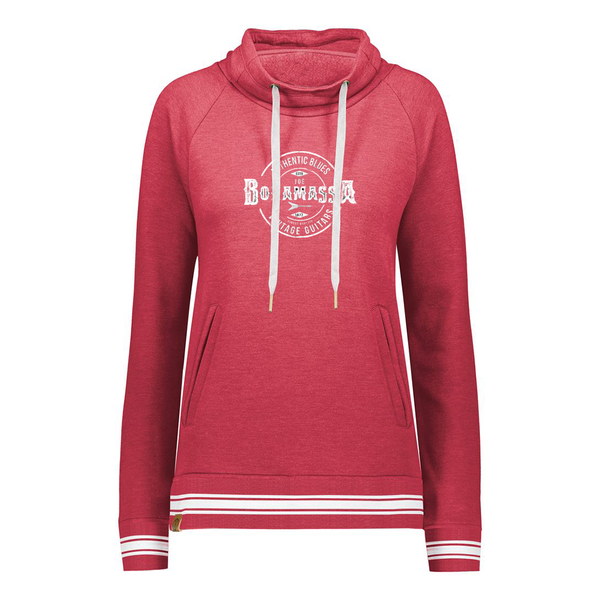 Authentic Blues Pullover (Women) - Scarlet Heather