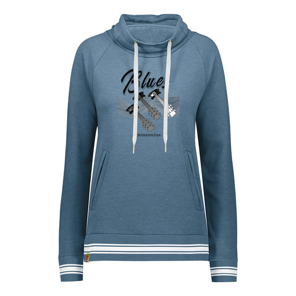 Blues Illusion Pullover (Women) - Storm Heather