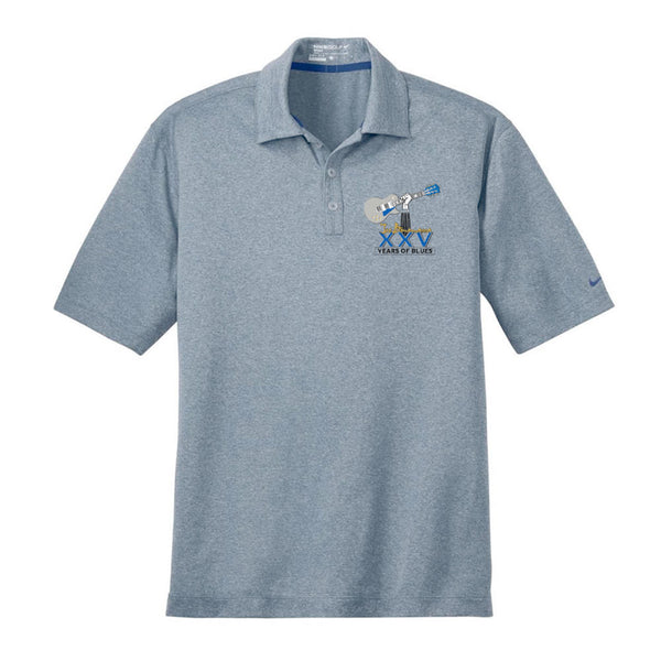 25th Anniversary Logo Nike Dri-Fit Heather Polo