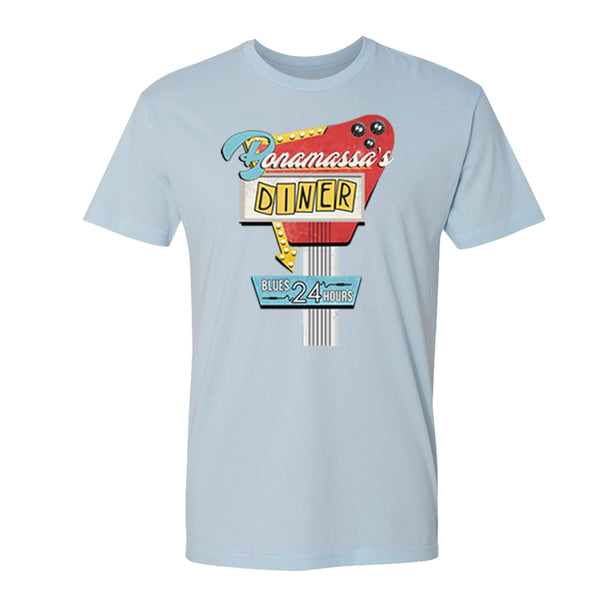 Bonamassa's Diner T-Shirt (Unisex) - Light Blue