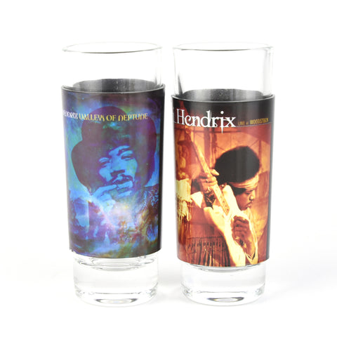 Jimi Hendrix  – Shot Glasses (2 Pack) Set Two