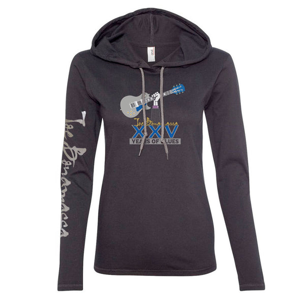 25th Anniversary Logo Hooded Long Sleeve (Women)