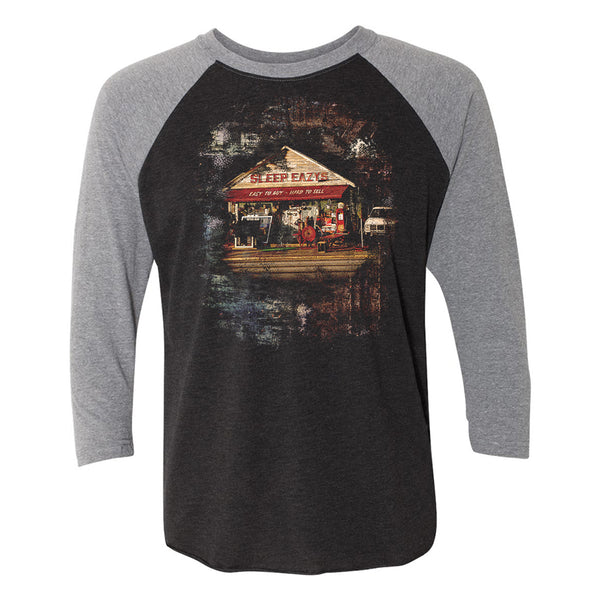 Easy to Buy, Hard to Sell 3/4 Sleeve T-Shirt (Unisex) - Heather Grey/Vintage Black