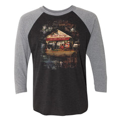 Easy to Buy, Hard to Sell 3/4 Sleeve T-Shirt (Unisex) - Heather Grey/Vintage Black ***PRE-ORDER***
