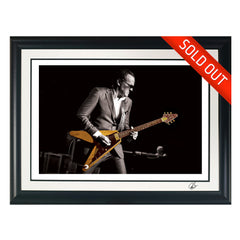 "#31 ""Re-Creation"" JOE BONAMASSA Collectible Litho (FRAMED - USA ONLY)"
