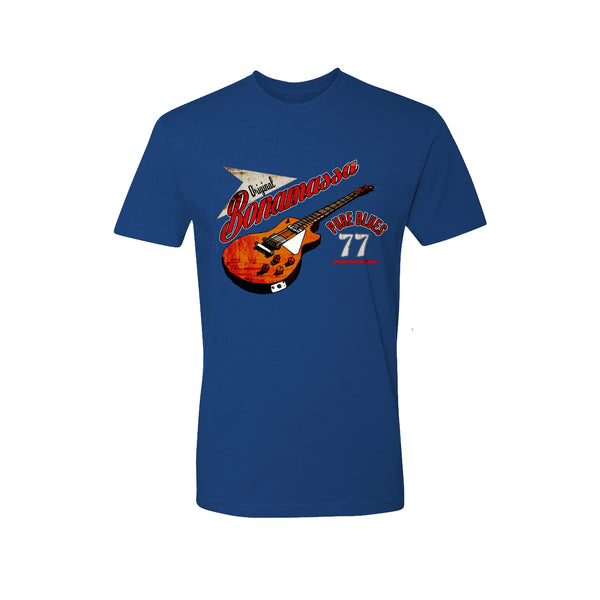 Bona-Fide Blues T-Shirt (Unisex) - Royal Blue