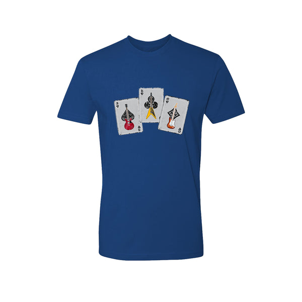 Deck of Blues T-Shirt (Unisex) - Royal Blue