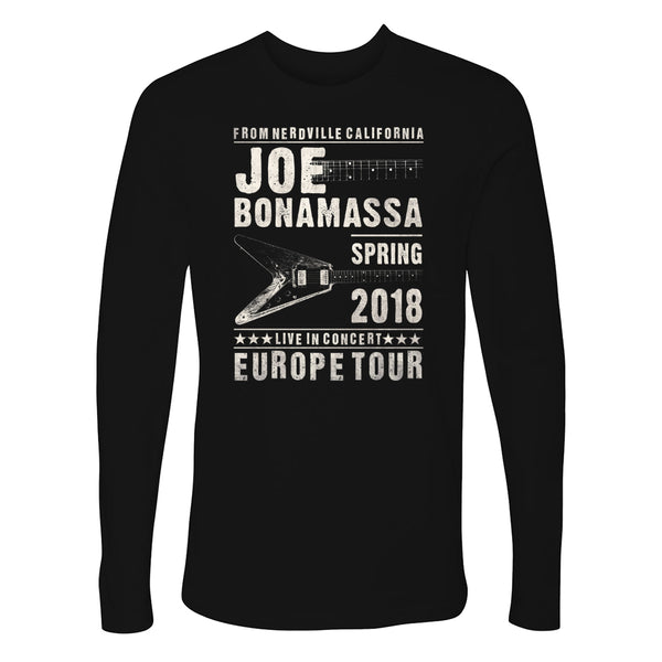 2018 Europe Tour Long Sleeve (Men)