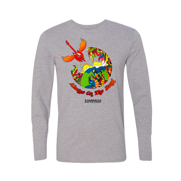 Blues Universe Long Sleeve (Men) - Heather Grey