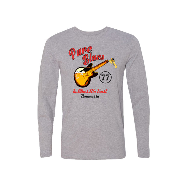 Brews & Blues Long Sleeve (Men) - Heather Grey