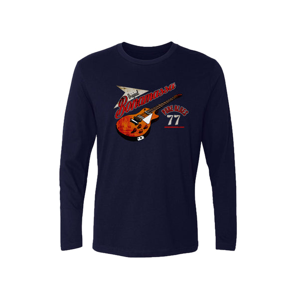 Bona-Fide Blues Long Sleeve (Men) - Midnight Navy