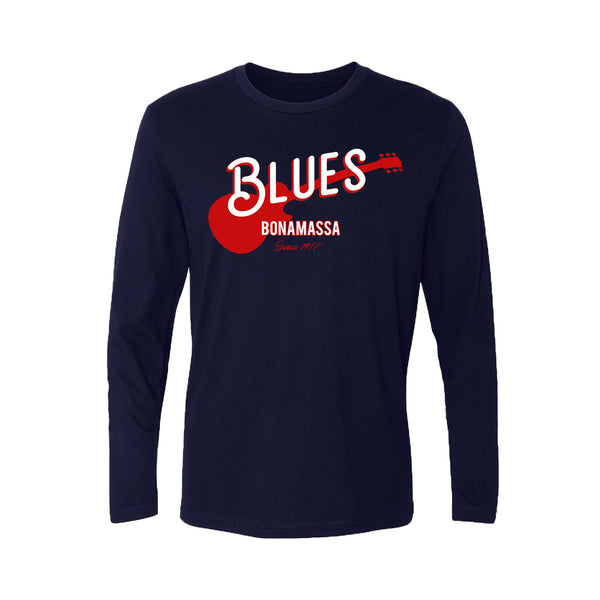 Certified Blues Long Sleeve (Men) - Midnight Navy