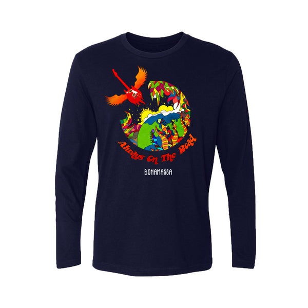 Blues Universe Long Sleeve (Men) - Midnight Navy
