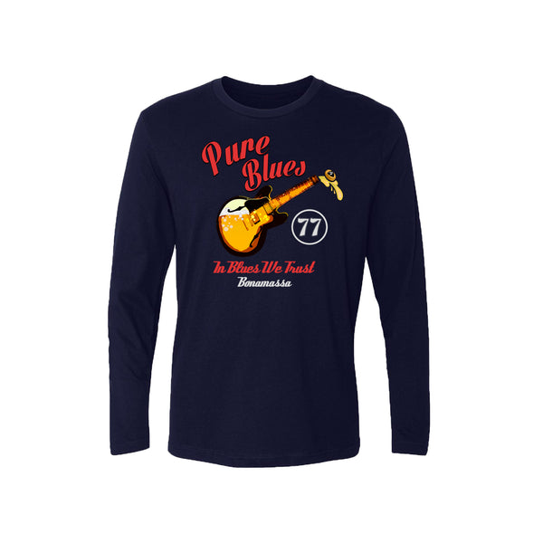 Brews & Blues Long Sleeve (Men) - Midnight Navy