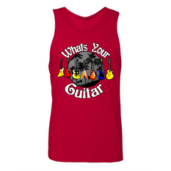 What's Your Guitar Tank (Unisex) - Red