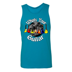 What's Your Guitar Tank (Unisex) - Turquoise