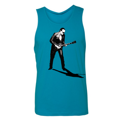 World Class Blues Tank (Unisex) - Turquoise