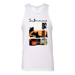 Shades of Summer Blues Tank (Unisex) - White