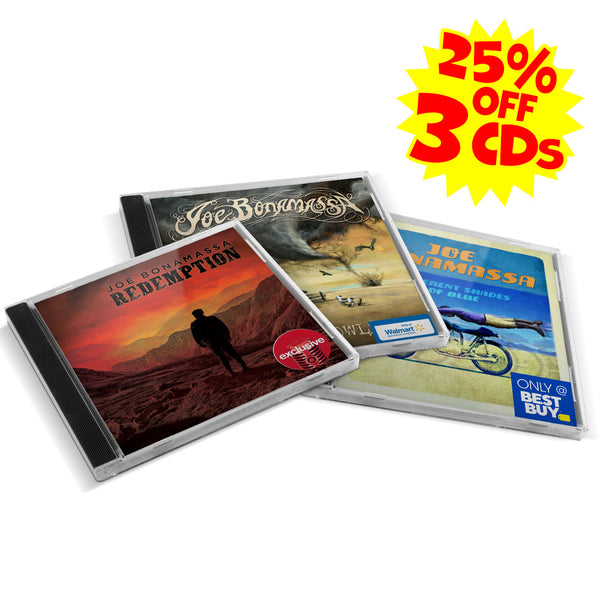 Dust Bowl, Different Shades of Blue & Redemption Exclusive CD - Bundle