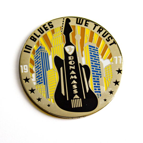 Jazzmaster City Challenge Coin - Limited Edition (100 pieces)