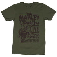 Bob Marley - Rastaman Live in London T-Shirt (Men)