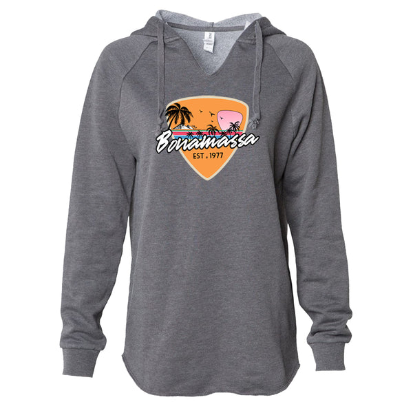 Blues Sunset Lightweight Pullover (Women) - Shadow