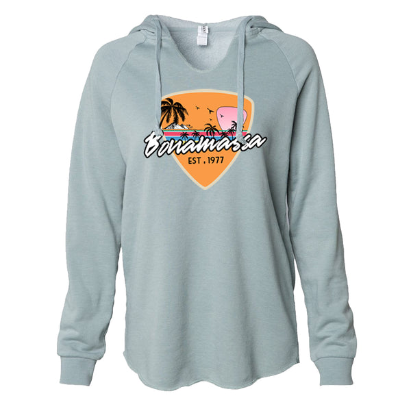 Blues Sunset Lightweight Pullover (Women) - Sage