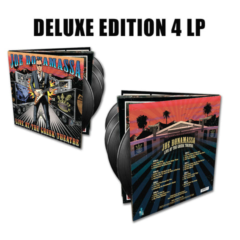 Joe Bonamassa: Live at the Greek Theatre (4-LP Deluxe Edition Vinyl Set) (Released: 2016) - Hand-Signed