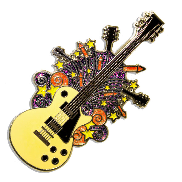 Headstocks & Rockets Pin
