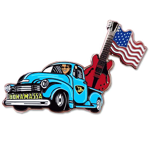 American Blues From Nerdville Pin